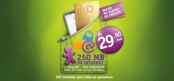 Cliente Vivo Controle já pode programar a mensalidade no cartão e291124f67861