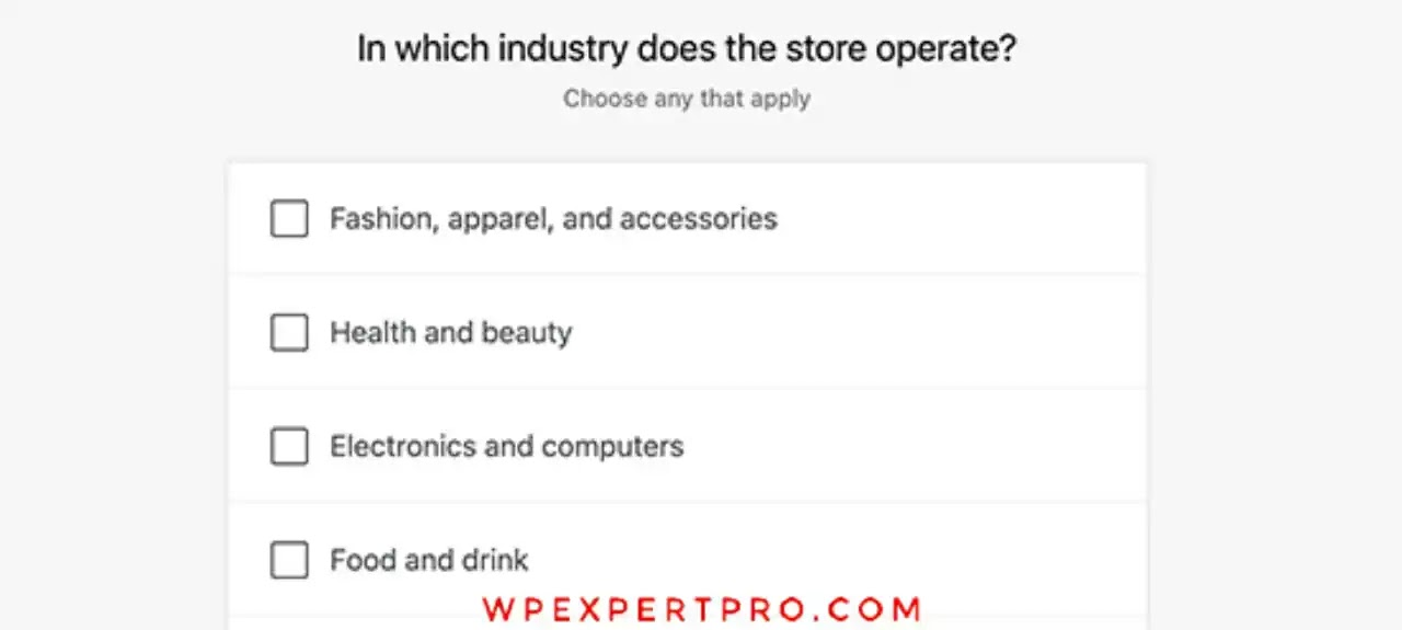 Select store industry