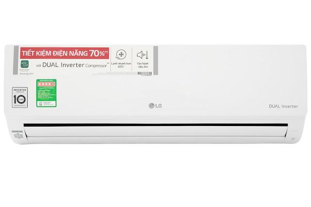 Điều hòa một chiều LG Inverter 1.5 HP V13APH