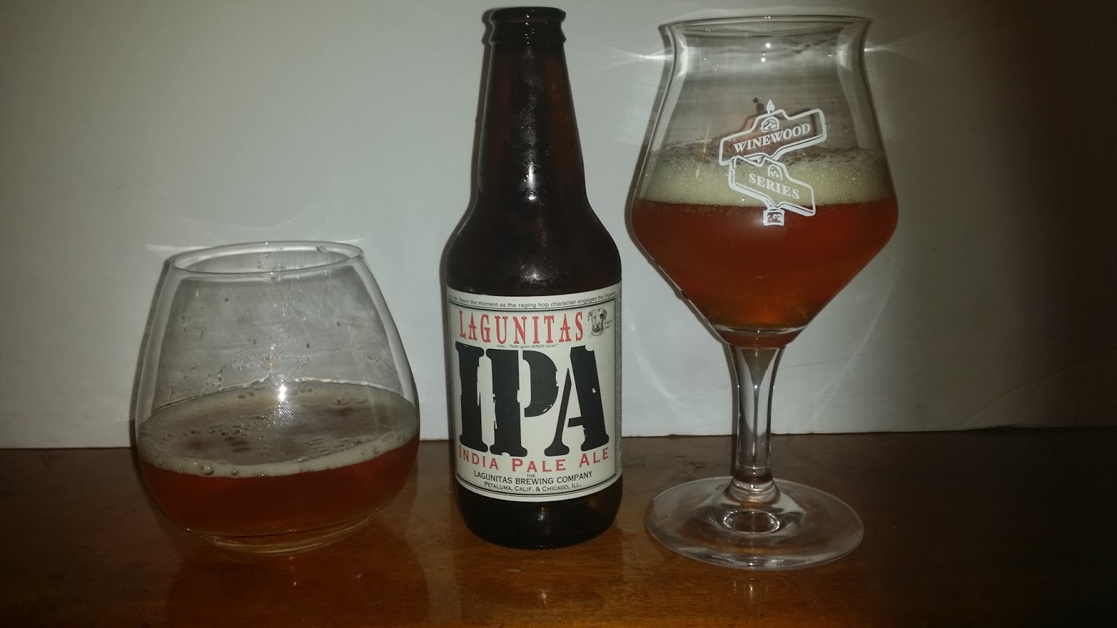 e1977fbf8aa ... for each glass so just recorded it once)  sweet malty west coast style  IPA some turbinado sugar with light hints of molasses and herbal hops notes.