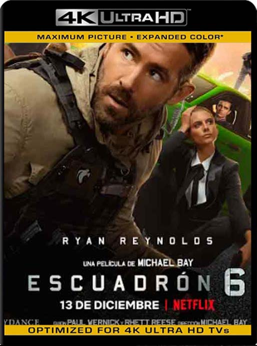 Escuadrón 6 (2019) 4K 2160p UHD [HDR] Latino [GoogleDrive]
