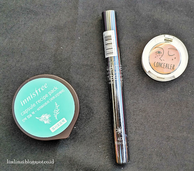 Abbamart You Can Cover Me Concealer Missha The Style 4D Mascara
