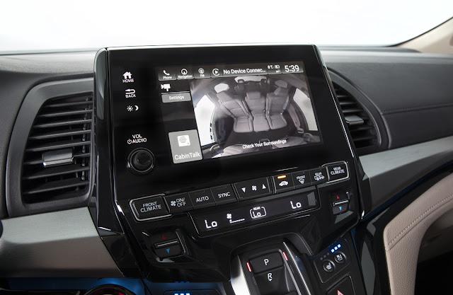 2018 Honda Odyssey Elite CabinWatch