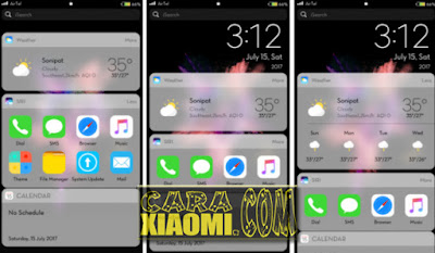 Update Theme MIUI Real IOS 10 V5 Update Version For Xiaomi