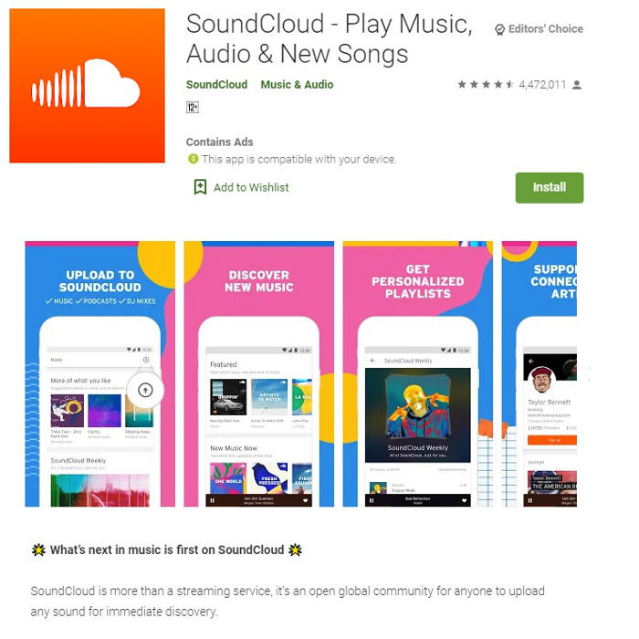 Best Music, Top 10 Free Apps for Andriod [Download Songs]