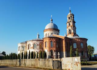 Миропілля. Вул. Сумська. Свято-Миколаївська церква Миколаївського монастиря