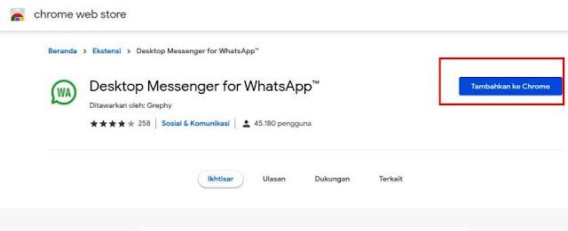 Dekstop Messenger for WhatsApp