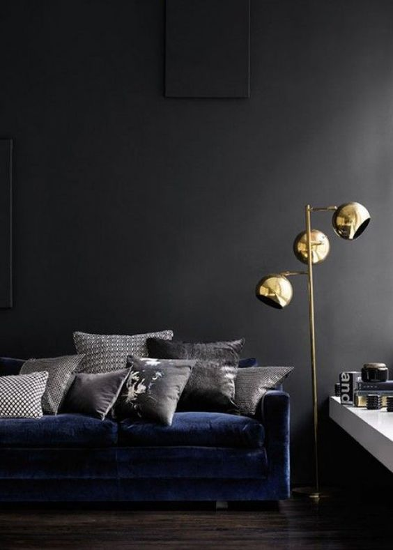 atelier rue verte le blog collectif project inside du bleu nuit pour un sofa. Black Bedroom Furniture Sets. Home Design Ideas
