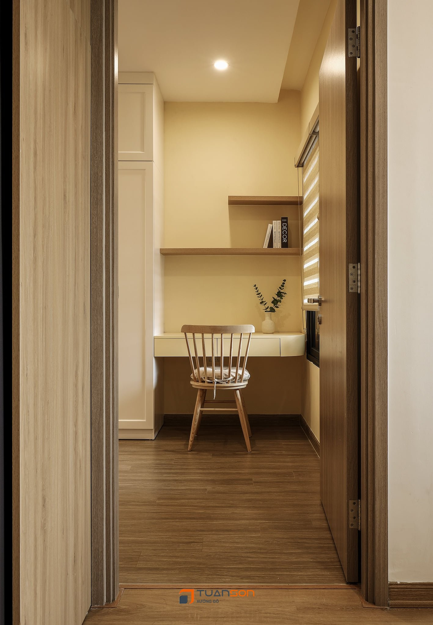 Hình ảnh thực tế nội thất căn hộ 2PN+2WC (62m2) Vinhomes Ocean Park
