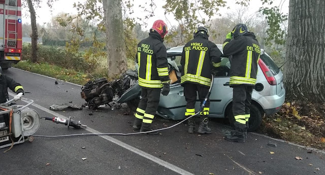 Il 22enne albanese subisce un fatale incidente stradale a Ferrara