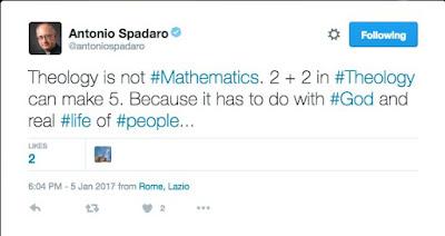 Spadaro 2+2 tweet