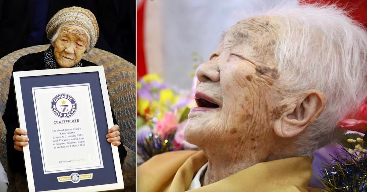 Kane Tanaka, The World's Oldest Living Person Aged 118, Will Carry The Olympic Torch Through Her Home City In Japan