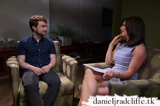 Daniel Radcliffe on Pix 11 News