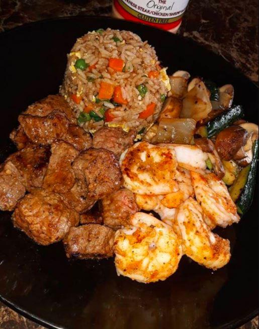Homemade Hibachi Dinner