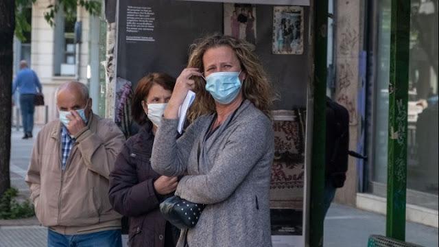 Δέκα πρόστιμα για μη χρήση μάσκας και αποστάσεις την Πέμπτη 17/9 στην Πελοπόννησο