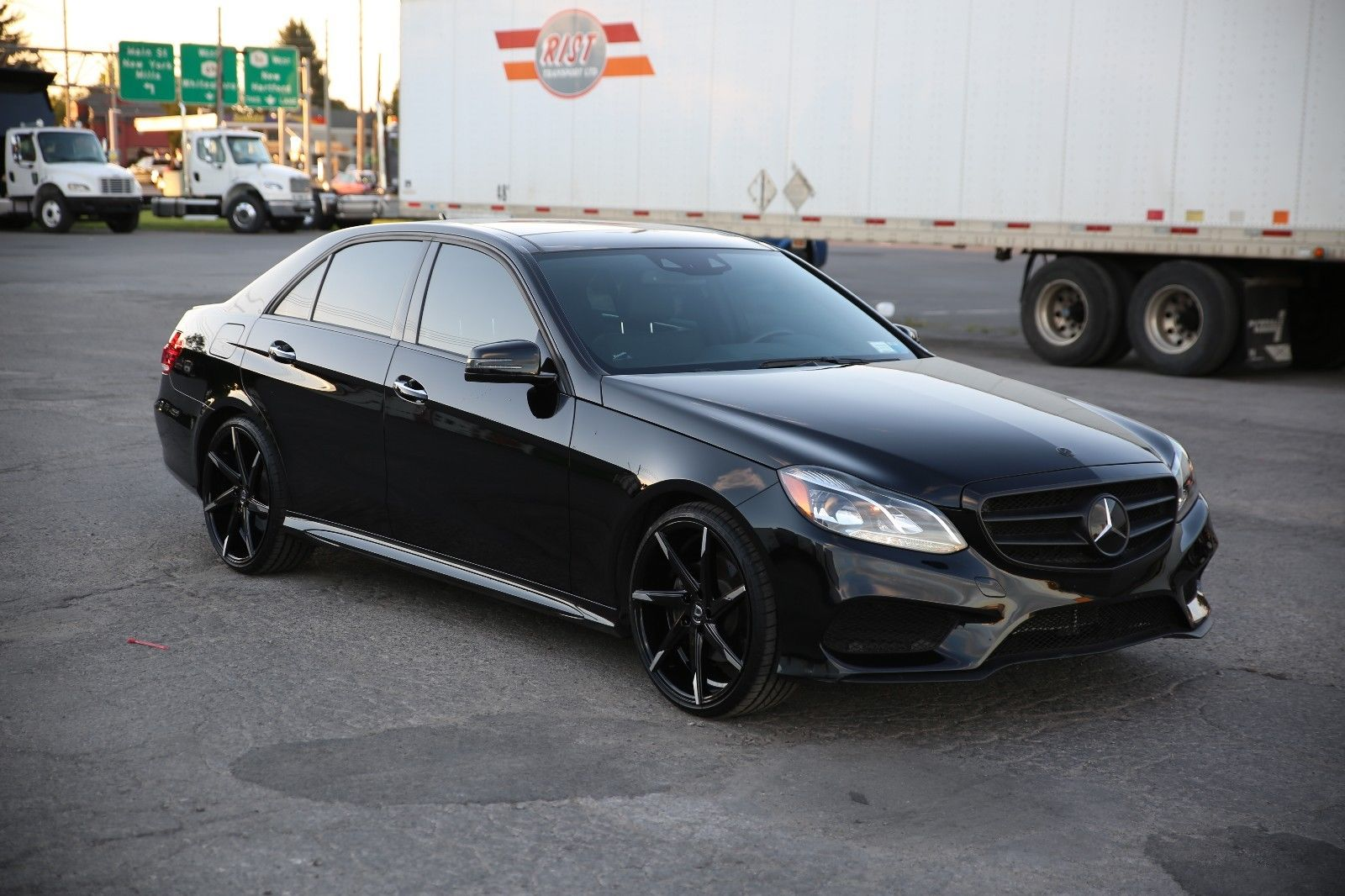 2014 mercedes benz w212 facelift e350 black on black. Black Bedroom Furniture Sets. Home Design Ideas