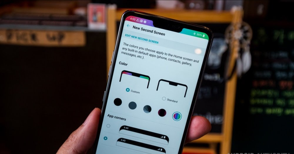 Customizing The Notch On The LG G7 ThinQ