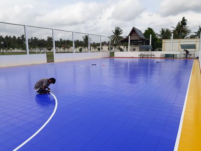 Gambar lapangan futsal interlock
