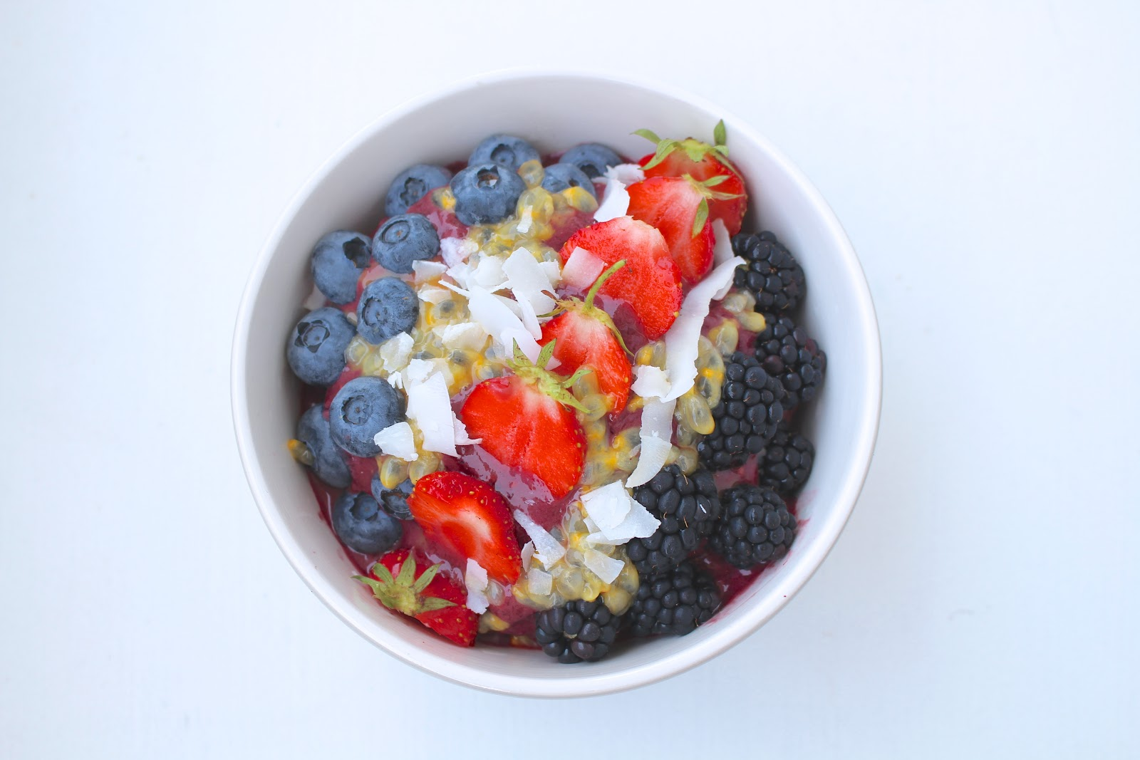 Açaí bowl recipe