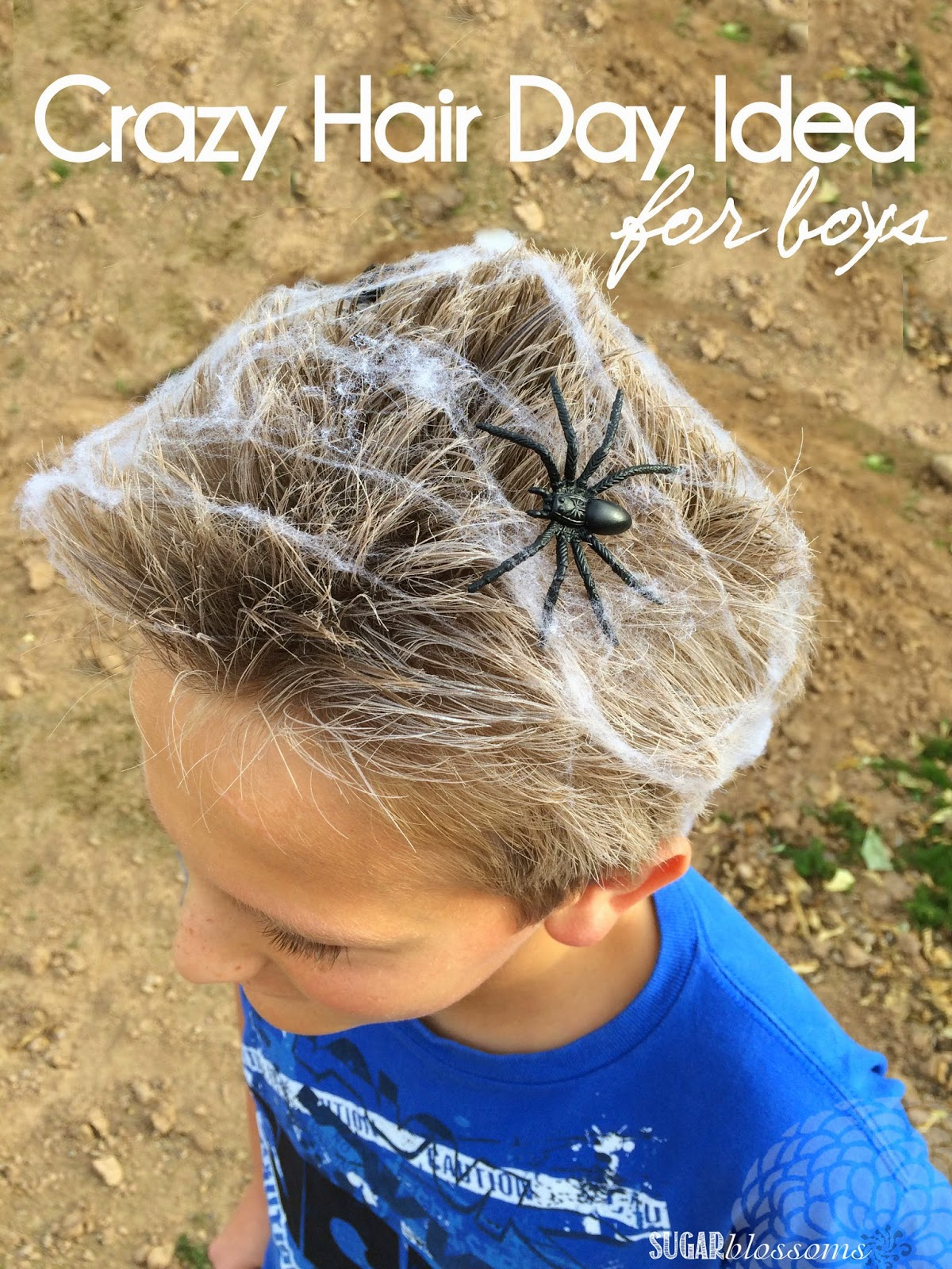 Sweet Sugar Blossoms Crazy Wacky Hair Day Idea For Boys