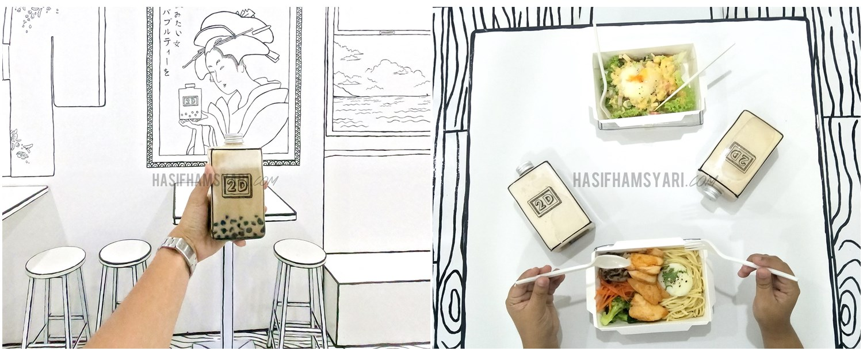 Kafe Unik Macam Dalam Komik 2d Bubbletea Cafe