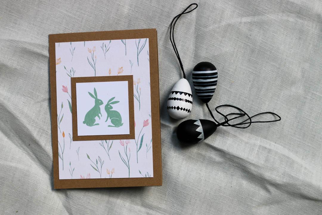 Ostern, Karte, DIY, Fleurcoquet