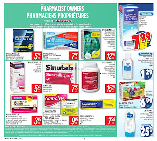 Jean Coutu Canada Flyer March 30 - April 5, 2018