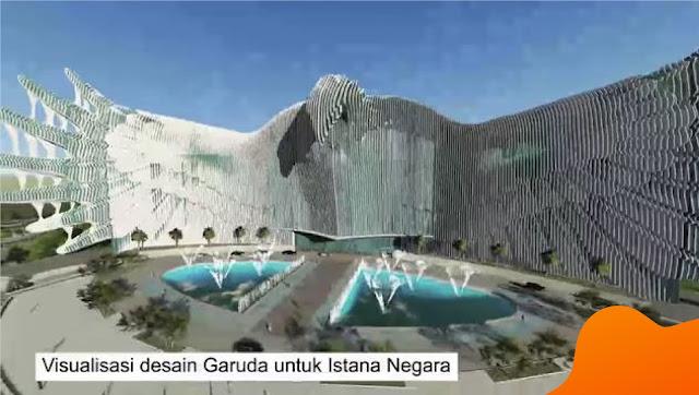 Desain Istana Negara