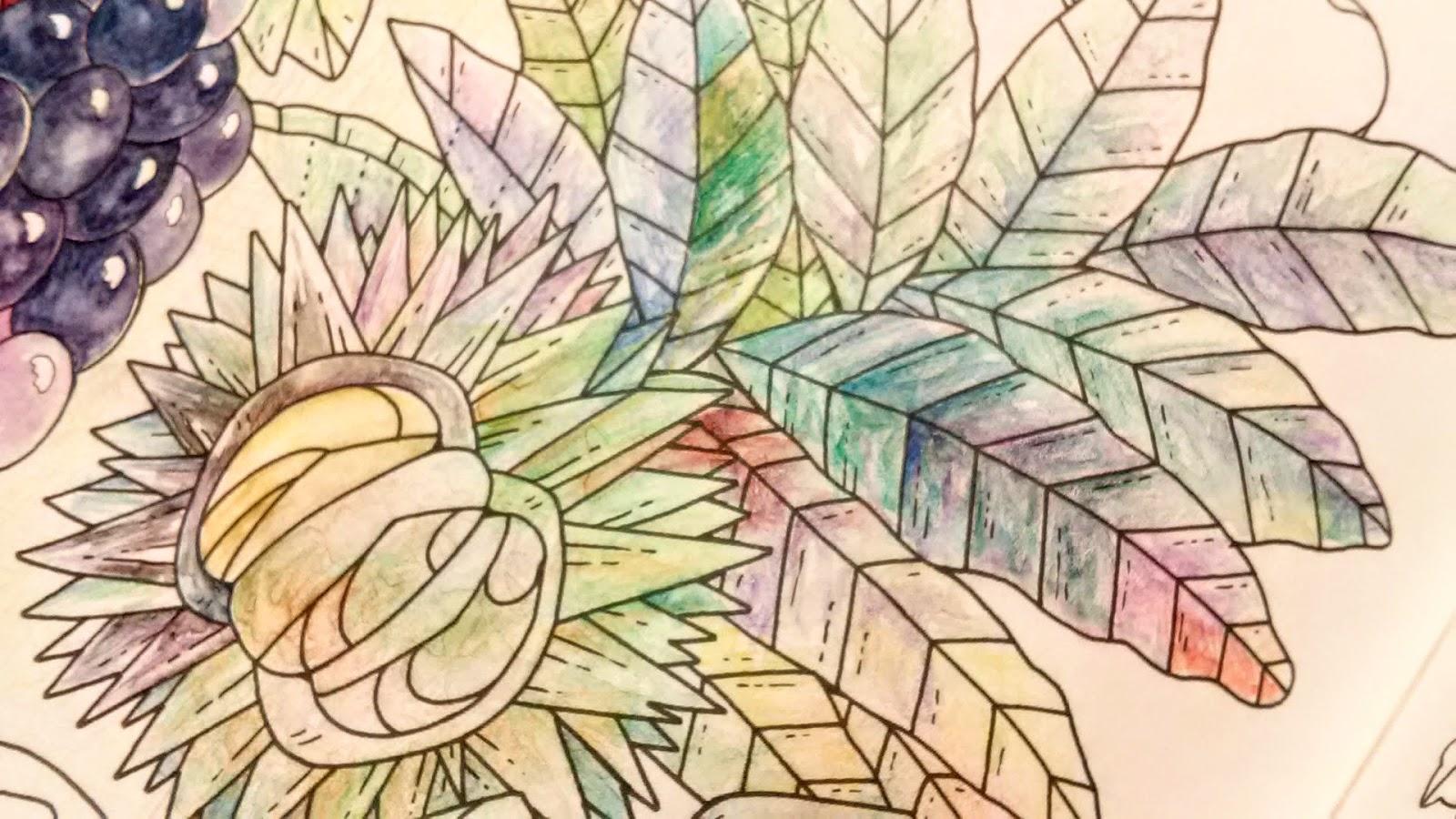 画像3「栗、葉」