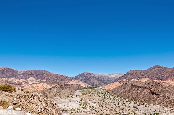Viajando por Argentina. La quebrada de Humahuaca