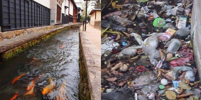 Beda Selokan Di Jepang Dan Di Indonesia Ini Bikin Heboh