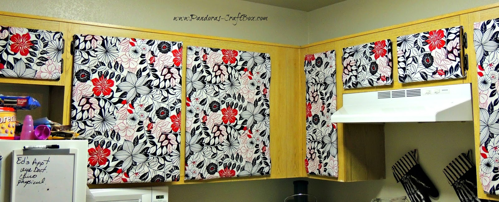 Covering Cabinets With Fabric Matasanos