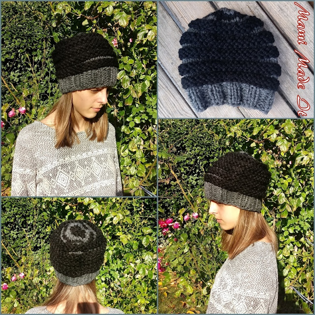 Knitted hat for boys