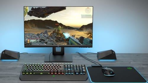 HP announces the X24c gaming display with a curved design