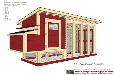 Home garden plans m101 chicken coop plans construction for How to build a house step by step pdf