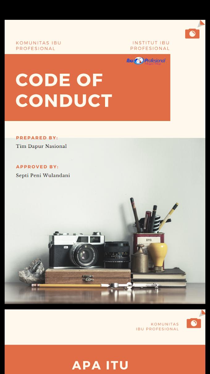 Code of Conduct Ibu Profesional
