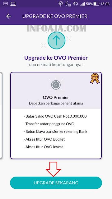 Upgrade ke OVO Premier