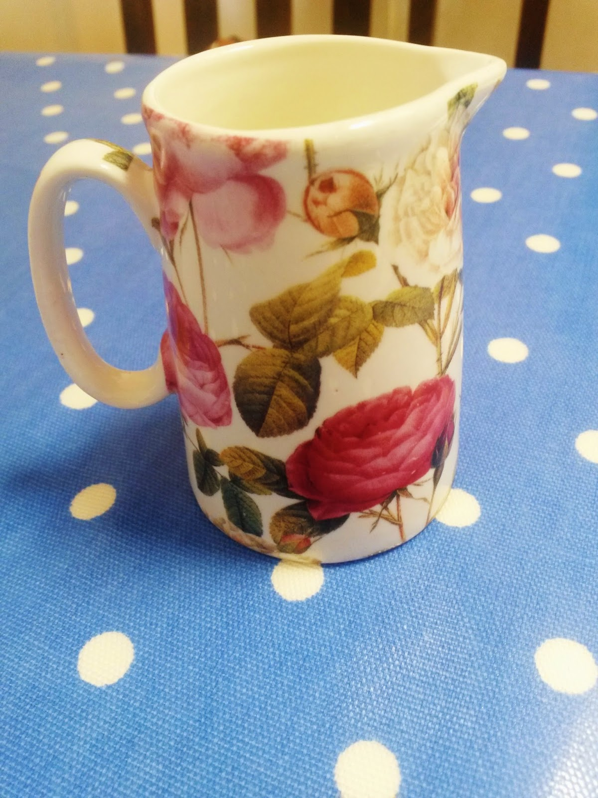 Milk jug for cream tea at the Dolls House