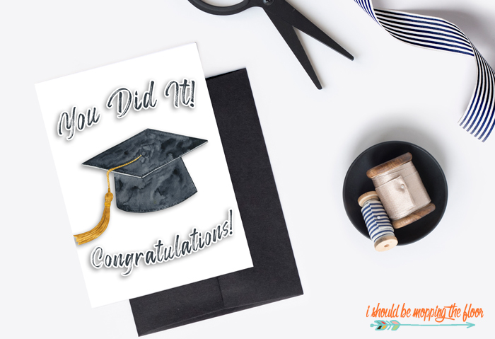 Graduation Cards to Print at Home