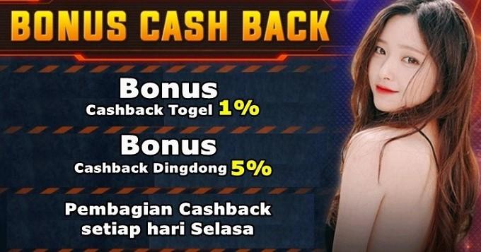 Bonus Cashback Agen Togel Garuda4D