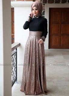 Model Baju Muslim Mewah Desain Terbaru Tahun 2016