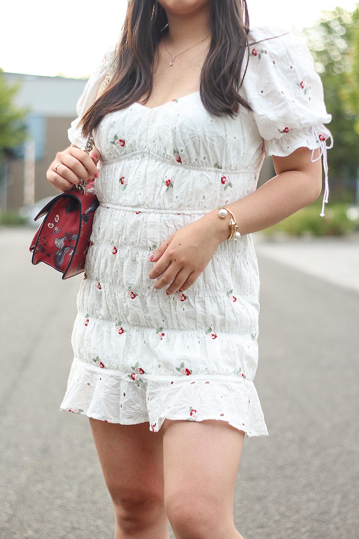 Weißes Kleid von Missguided Details