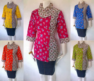 Koleksi Model Batik Kerja Modern