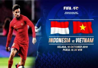 Indonesia Jamu Vietnam di Stadion Kapten I Wayan Dipta