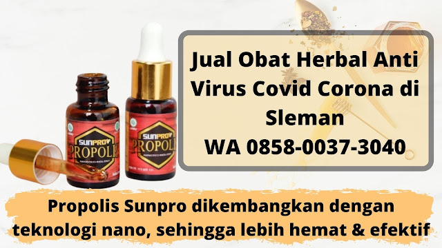 Jual Obat Herbal Anti Virus Covid Corona di Sleman WA 0858-0037-3040