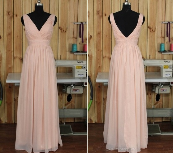 http://uk.millybridal.org/product/v-neck-ruched-chiffon-floor-length-pink-backless-bridesmaid-dress-ukm01012891-17231.html?utm_source=minipost&utm_medium=2722&utm_campaign=blog