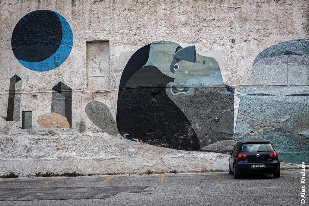 стрит-арт в Патрах