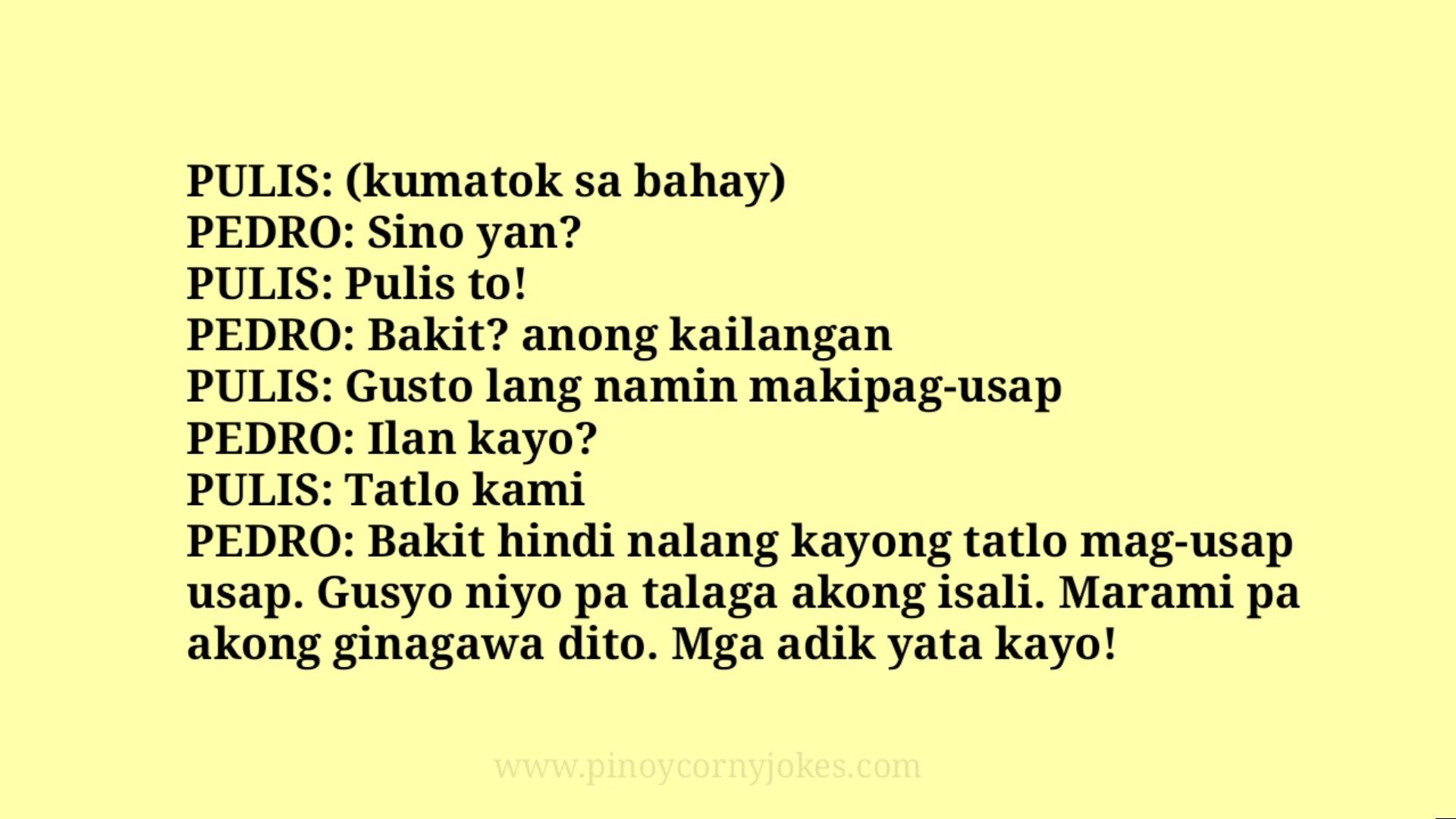 kumatok best pinoy pulisya jokes
