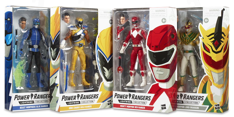 Dino Charge Red Ranger Lightning Collection Hasbro Action Figure Power Rangers