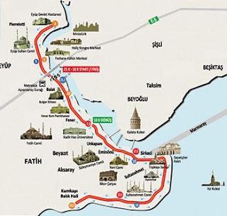 istanbul peninsula map